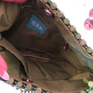 "The Sak Bags - Green ""Samoa grass"" purse by The Sak"